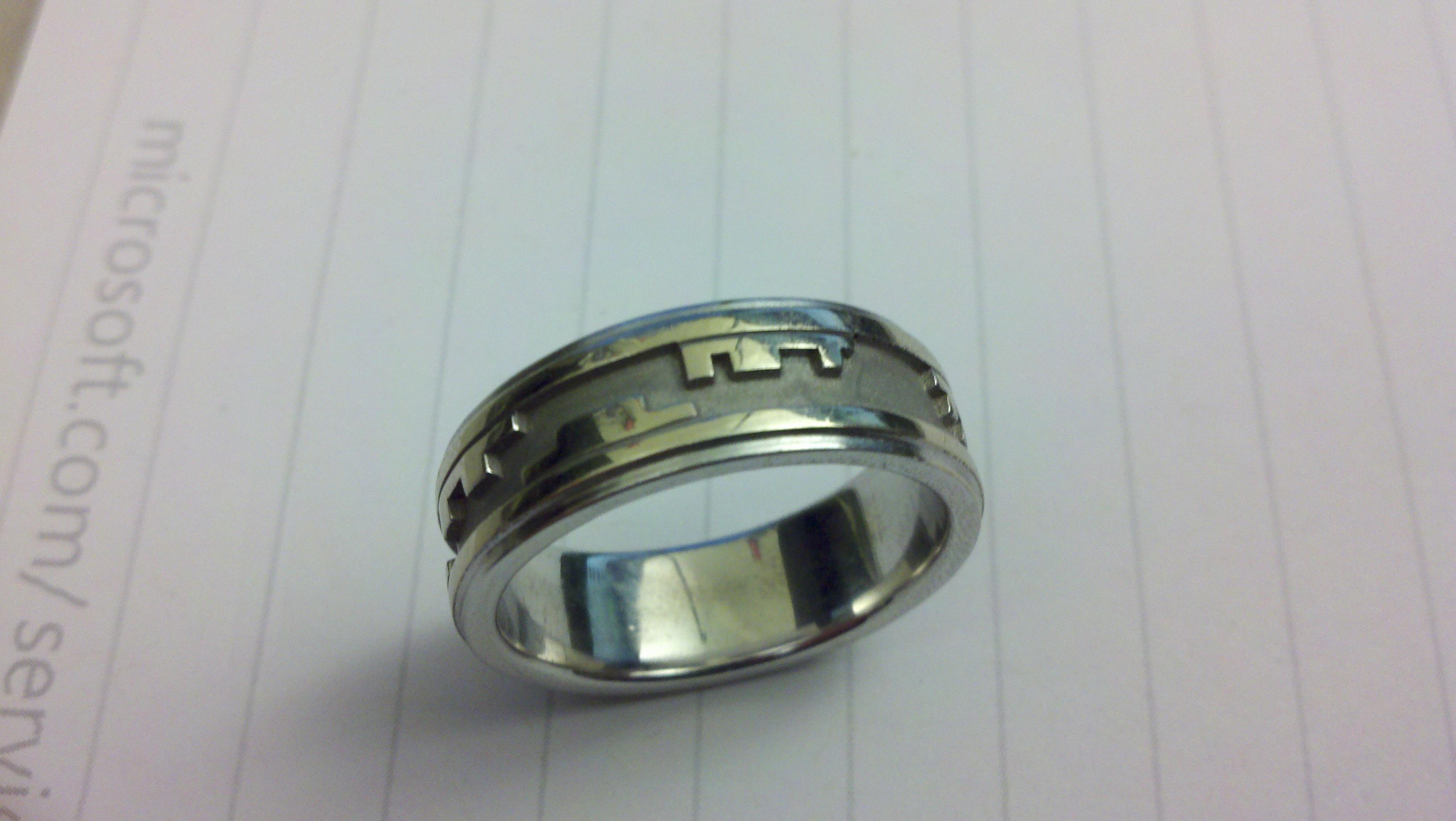 Digital fensive Blog Archive My high tech geek wedding ring
